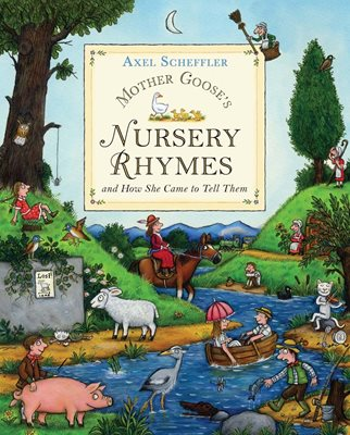 Book cover for Mother Goose's Nursery Rhymes